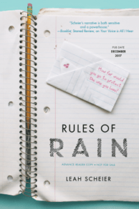 Review: Rules of Rain by Leah Scheier