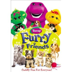Barney Furry Friends DVD