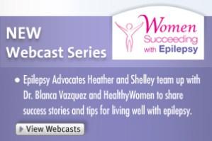 Women succeeding with epilepsy webcast