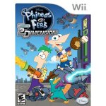 Phineas and Ferb Across the 2nd Dimension Wii Game
