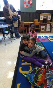 classroom hug