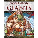 Dominion of Giants: Behemoths of the Fantasy World; Fantasy coloring book