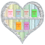Heart2Heart Books inspirational Tees