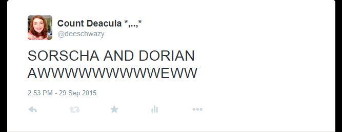 sorscha and dorian