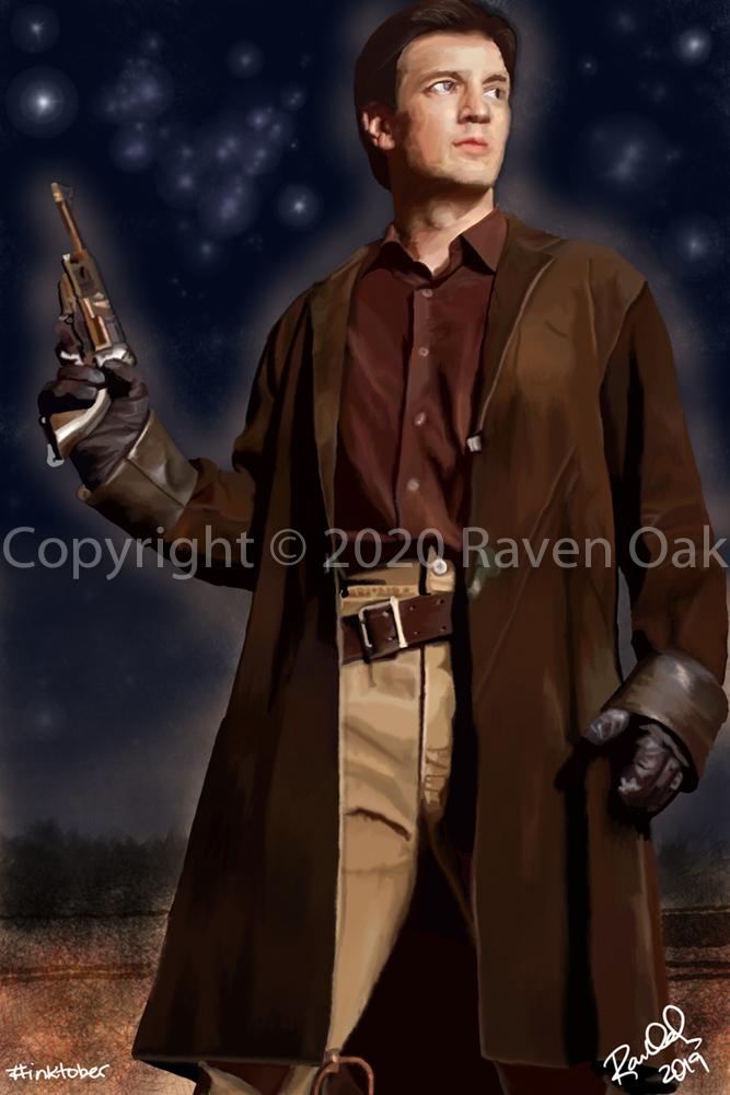 Coat by Raven Oak.
