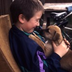 09 boy with puppy