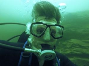 heart survivor return to diving