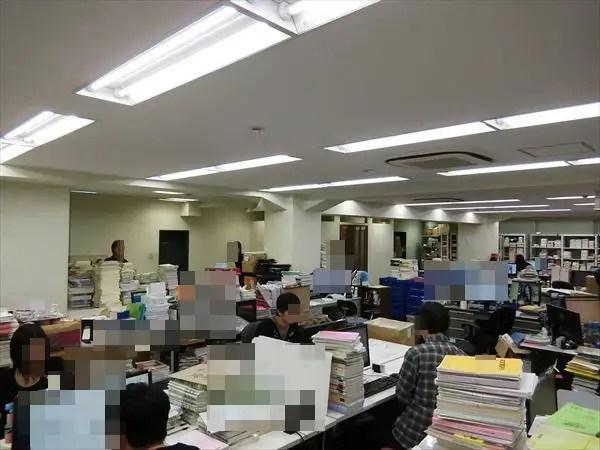 業務風景の紹介(大阪本社)