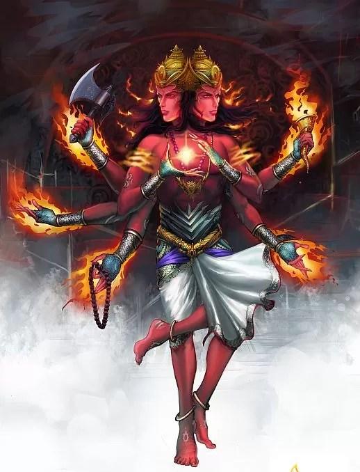 Fire agni worshipped as god across religions for Agni indian cuisine