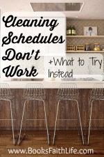 Cleaning Schedules Don't Work