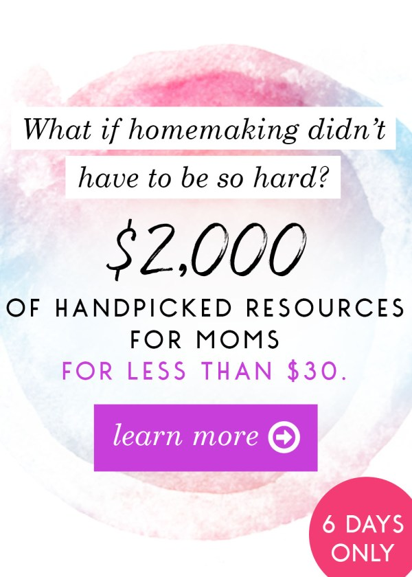 What is the Ultimate Homemaking Bundle? How do I use it?