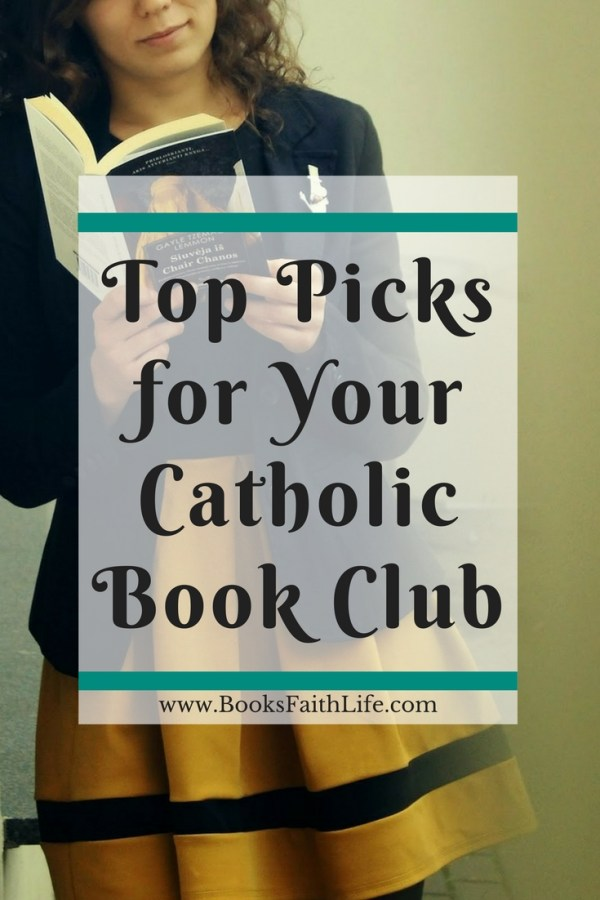 Any of these books make a great study, it's just about finding the right fit for your Catholic book club! Tried and true suggestions for your parish group.