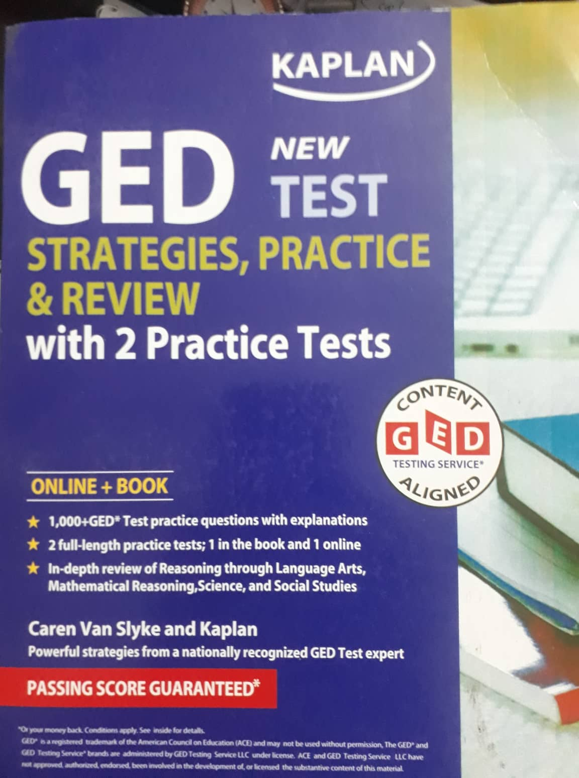 GED Test 2019-2020 Strategies, Practice Review with 2 Practice Tests -  BookShopBD com