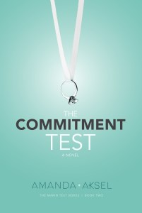 %name Cover Reveal for The Commitment Test by Amanda Aksel