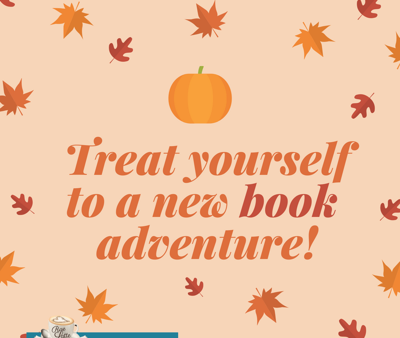 Treat yourself to a new book adventure