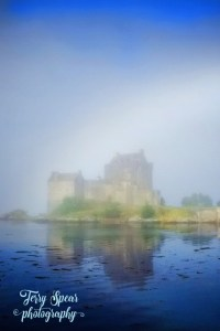 magical rainbow Eilean Donan 427x640 fog bow text 200x300 Coffee With Terry Spear