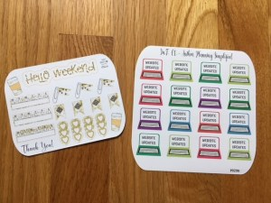 IMG 594817967 300x225 Bling out your personal planner with Stickers from IntCo   Product review and Q & A
