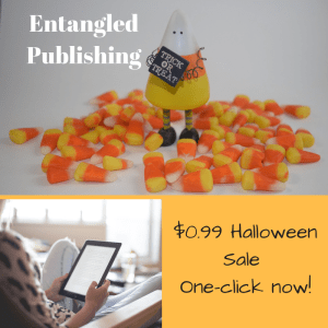 0.99 Halloween Sale from Entangled PublishingOne click now 300x300 Entangled Publishing has a few treats for Halloween