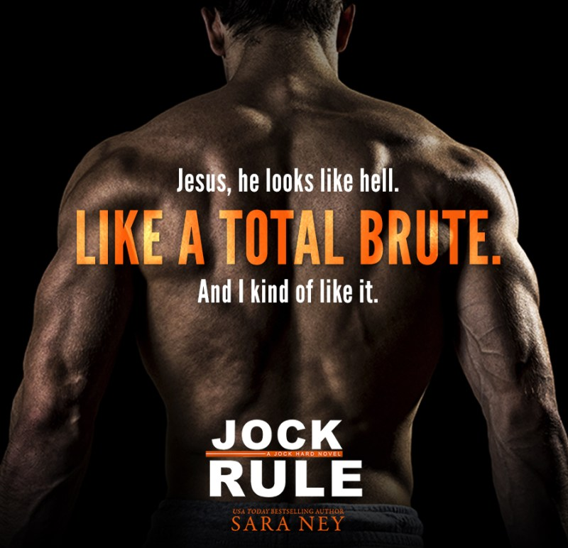 JockRule teaser1 800x772 Jock Rule by Sara Ney