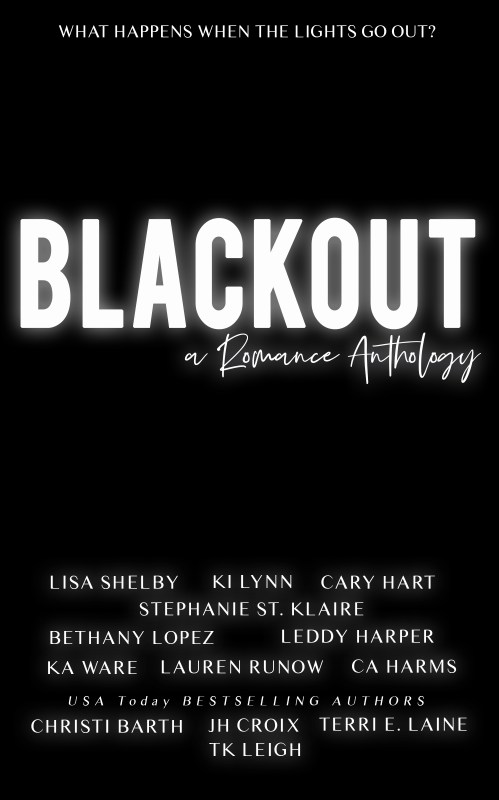 Black Out Cover 499x800 Cover Reveal of Blackout: A Romance Anthology