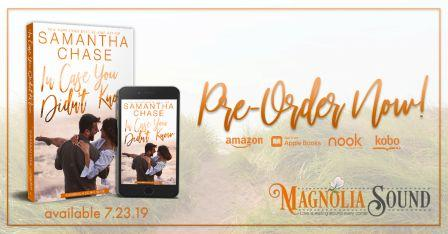 ICYDK PreOrder Compressed Cover Reveal: In Case You Didnt Know by Samantha Chase