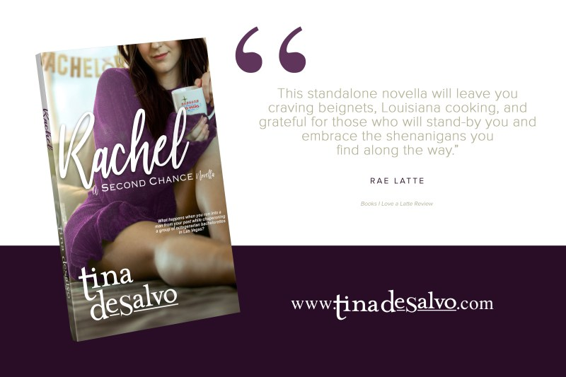 RACHEL Rae Latte review quote 800x533 The Extra Shot  Rachel: A Second Chance Novella by Tina DeSalvo & Giveaway