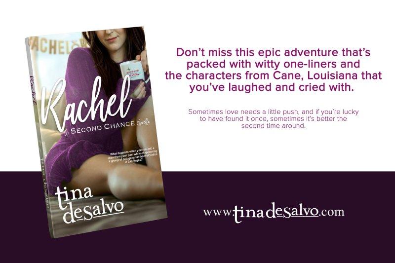 RACHEL2 slide 800x533 The Extra Shot  Rachel: A Second Chance Novella by Tina DeSalvo & Giveaway
