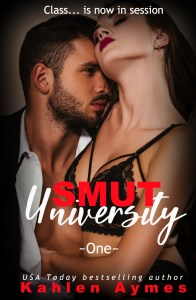Smut University Cover One 1 196x300 Cover Reveal & Excerpt: Smut University by Kahlen Aymes