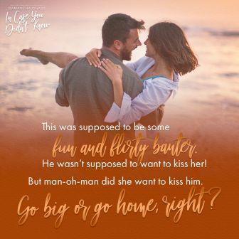 ICYDK Teaser GoBig compressed Teaser Post: In Case You Didnt Know by Samantha Chase