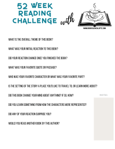 52 week Reading Challenge 2020 V9 232x300 52 Week Reading Challenge   Week One check in...
