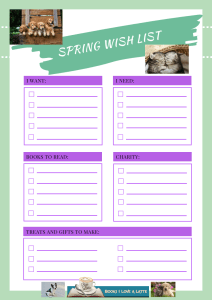 Spring Wish List Animals 212x300 Ways to Espresso Yourself