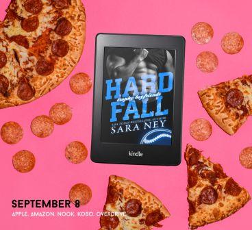 Promo Hard Fall Cover Reveal: Hard Fall (Trophy Boyfriends) by Sara Ney