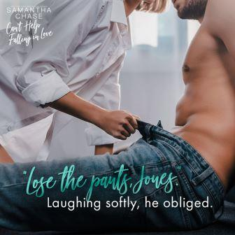 CHFIL Teaser Pants Cant Help Falling In Love by Samantha Chase