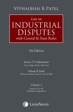 Law on Industrial Disputes– with Central & State Rules (Set of 2 Volumes)