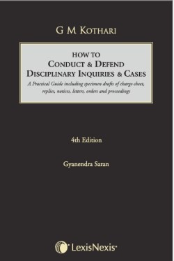 HOW TO CONDUCT and DEFEND DISCIPLINARY INQUIRIES and CASES