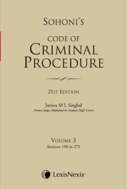 CODE OF CRIMINAL PROCEDURE VOL. 3 (Sections 190 to 271)