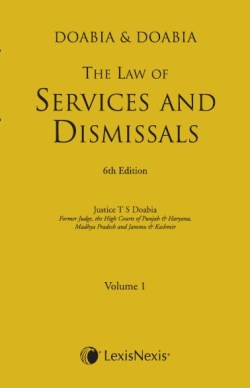 The Law of Services and Dismissals (Set of 2 Vols.)