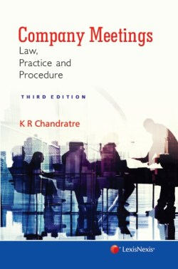 Company Meetings-Law, Practice and Procedure