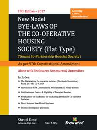 NEW MODEL BYE-LAWS OF THE CO-OPERATIVE HOUSING SOCIETY [FLAT TYPE]