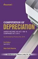 Computation Of DEPRECIATION
