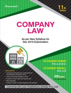 COMPANY LAW (As Per New Syllabus For Dec. 2019 Examination