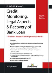 CREDIT MONITORING, LEGAL ASPECTS & RECOVERY OF BANK LOAN