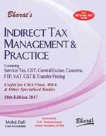 INDIRECT TAX MANAGEMENT & PRACTICE (For CMA Final)