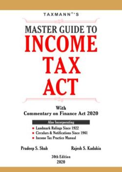 Master Guide To Income Tax Act