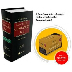 Ramaiya's Guide to the Companies Act, 2013 by Arvind P Datar, S. Balasubramanian (Box 1- 6 Vols)