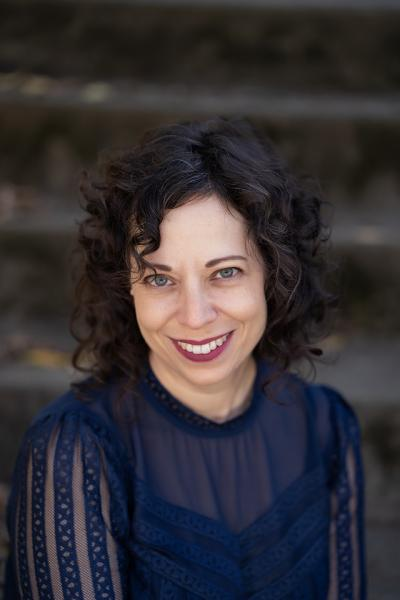 photo of Melanie Abrams courtesy of the author