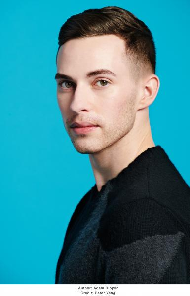 photo of Adam Rippon by Peter Yang