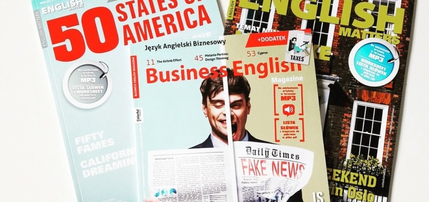 English Matters 81/2020, wydanie specjalne English Matters 38/2020 i Business English Magazine 76/2020
