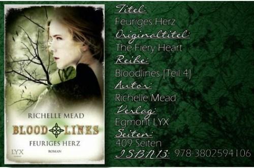 Vampire Academy: Bloodlines 04 - Feuriges Herz von Richelle Mead