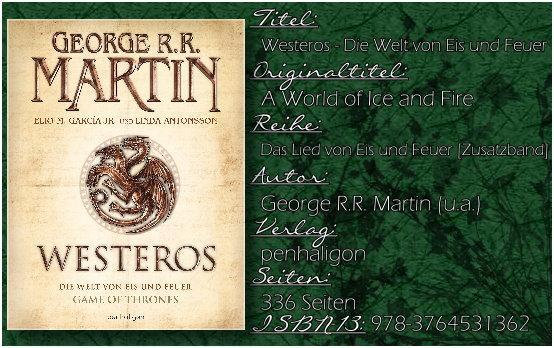 George R.R. Martin (u.a.) - Westeros: Die Welt von Eis und Feuer [Das Lied von Eis und Feuer]